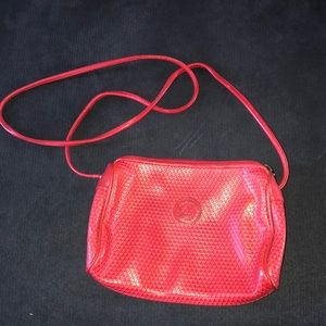 Liz Claiborne Red Leather Hipster